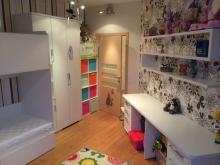 Детская мебель на заказ в белом цвете, мебель на заказ в детскую
