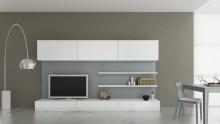 Современная мебельная стенка в стиле хай-тек каталог, Заказать современную мебельную стенку в стиле хай-тек