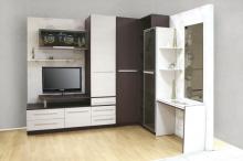 Купить современную мебельную горку угловую, Современная мебельная горка угловая от производителя