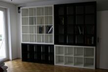 Книжный стеллаж на заказ, полки для книг