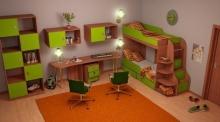заказать комплект  детской мебели