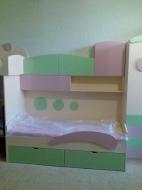 Киев кровать детская с полками, Фотографии детских кроватей