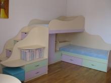 Кровать двухъярусная  купить, двухярусная кровать в Киеве