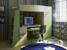 Кровать-чердак с письменным столом  в Киеве, Кровать-чердак фото