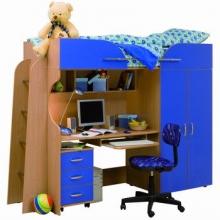 Детская кровать с письменным столом цены, Детская кровать со столом смотреть