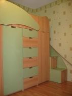 Чердак-кровать цена, Заказать кровать-чердак со шкафом