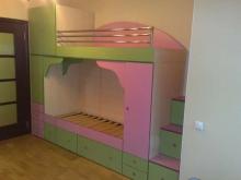 Заказать кровать двухъэтажную, Кровать двухъэтажная на заказ