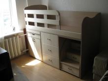 Кровать-трансформер фото, кровать-чердак с высоким бортиком