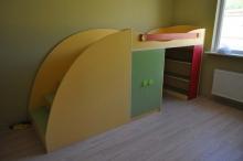 Маленькая двухъярусная кровать, купить невысокую двухъярусную кровать