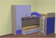 Кровати двухъярусные углом, оригинальные двухъярусные кровати
