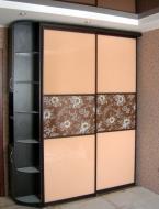 В Киеве шкаф-купе 2-х дверный, фасады стекло Лакобель и фотопечать; Шкаф-купе 2-х дверный, фасады стекло Лакобель и фотопечать, фото