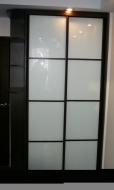 Шкаф-купе 2-х дверный, фасады стекло Лакобель не дорого; Шкаф-купе 2-х дверный, фасады стекло Лакобель смотреть