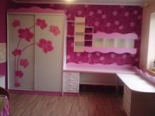 Шкаф купе в комнату девочки, шкаф-купе для девочки
