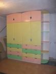 Купить детский шкаф на заказ, Оригинальный детский шкаф на заказ Киев