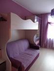 Детская двухъярусная кровать с диваном внизу, двухъярусная кровать с диваном